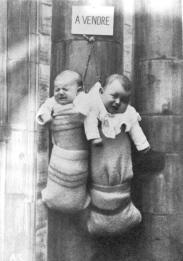 Bambini indesiderati in vendita in Italia, 1940