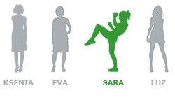 Le Vendicatrici - Sara