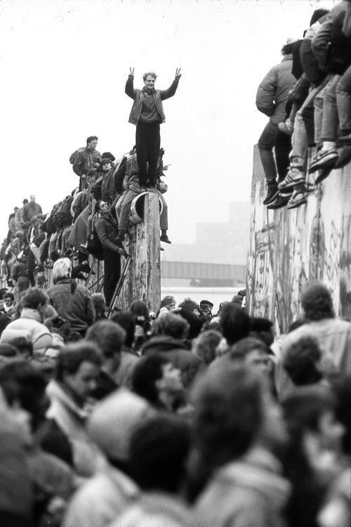Muro di Berlino, 1989