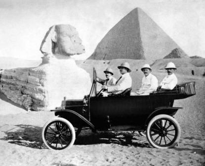 Ford Model T-Centennial in Egitto, 1914
