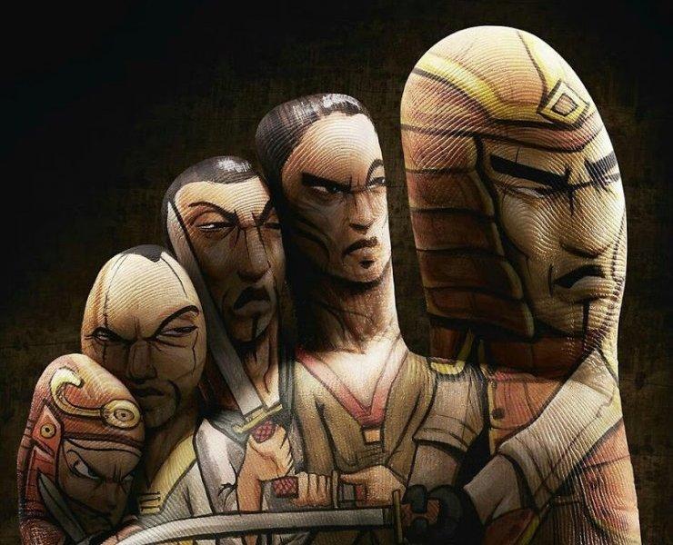 """Le dita samurai""diAutore sconosciuto"
