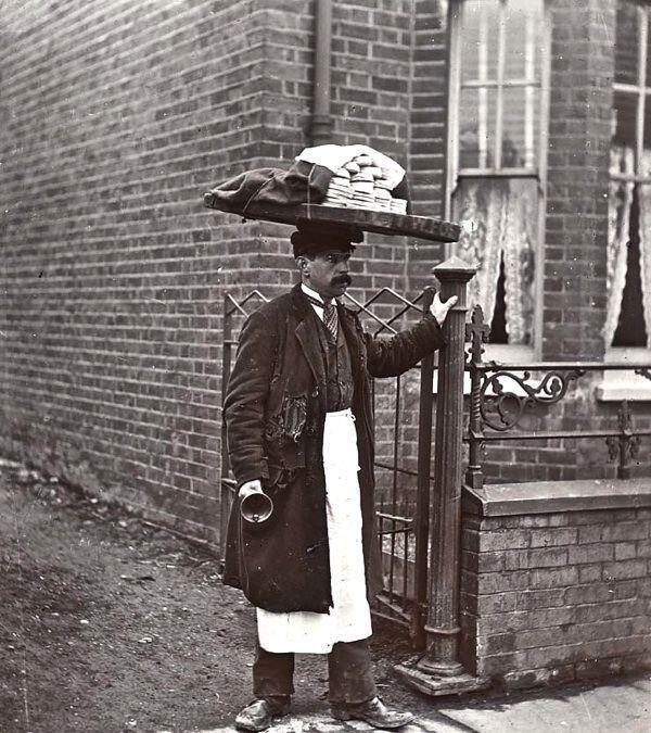 Muffin Man, Londra, 1910