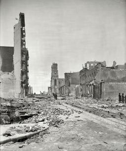 San Francisco dopo il terremoto del 1906
