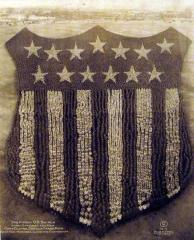 """The Human U.S. Shield"" - 30.000 ufficiali e soldati, di Camp Custer, Battle Creek, Michigan, 1918 (foto di Arthur Mole)"