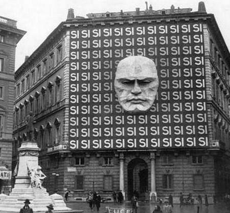 Sede del partito fascista di Benito Mussolini, Roma, 1934