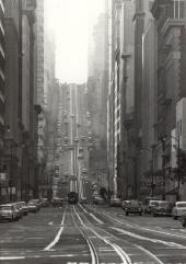 Una strada della California, San Francisco, 1964