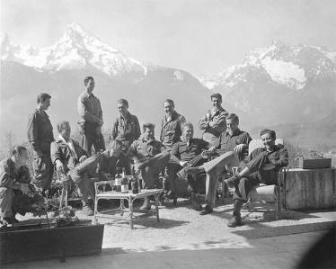 Dick Winters e Easy Company (Band of Brothers) al Nido dell'Aquila, la residenza di Hitler