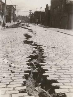 Folsom Street, San Francisco dopo il grande terremoto del 18 aprile 1906