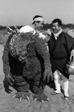 Haruo Nakajima, l'uomo dentro Godzilla, 1964