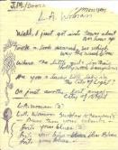 Testi originali di Jim Morrison per LA Woman 1970