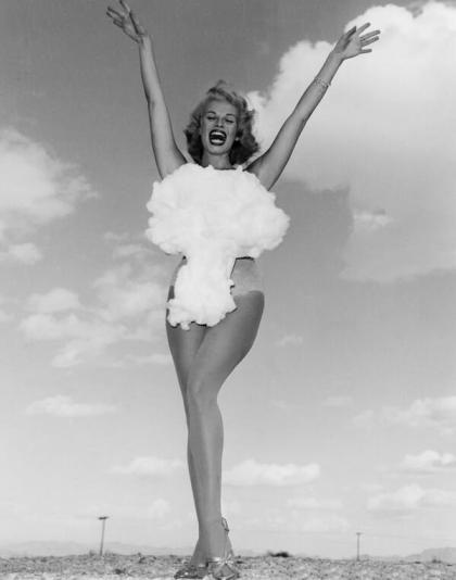 Miss Bomba Atomica circa 1957