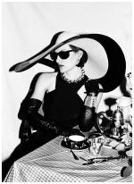 La figlia di Pablo Picasso, Paloma Picasso, da Tiffany di New York, 1980