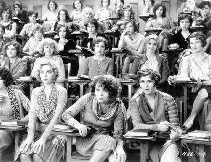 Classe di educazione sessuale, 1929