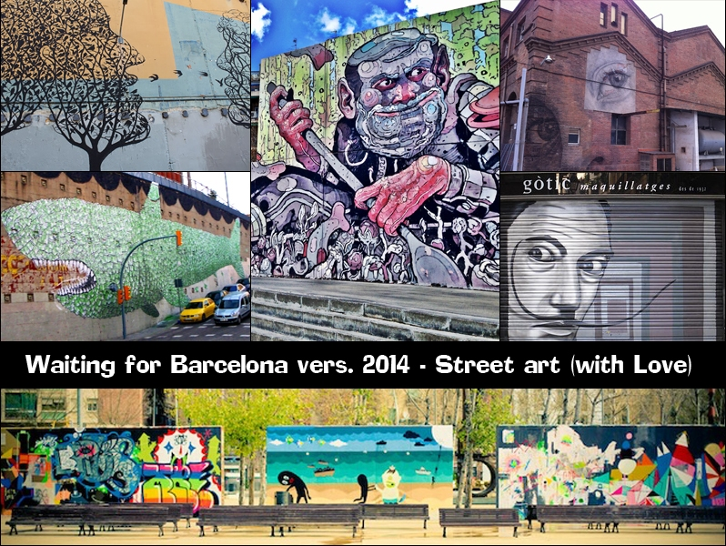 streetart in Barcellona