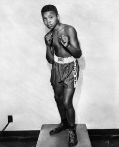 Muhammad Ali a 12 anni, nel 1954