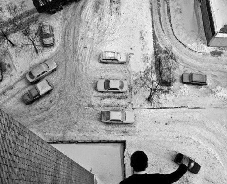 Scatto del fotografo russo Aleksandr Malin
