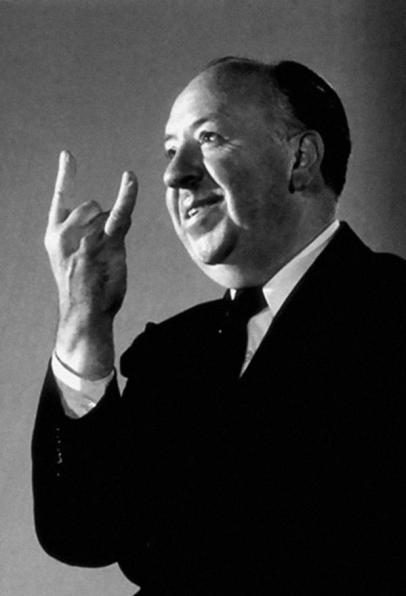 Alfred Hitchcock fale corna, 1960