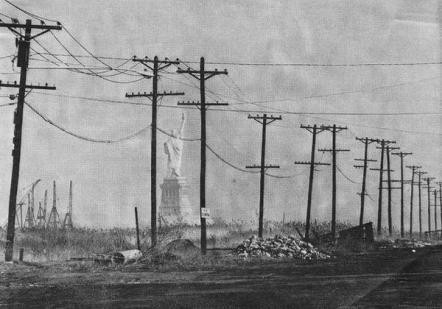Un quadro raccapricciante di Manhattan nel 1963