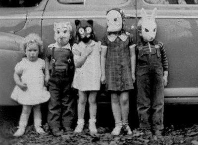 Bambini travestiti a Halloween