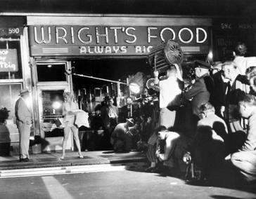 Dietro le quinte di Marilyn Monroe. Sul posto a New York, le riprese di Seven Year Itch, 1954
