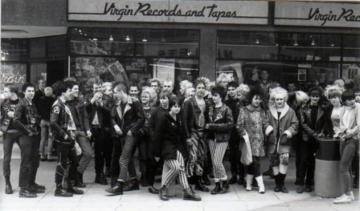 Punk a Bristol, 1980