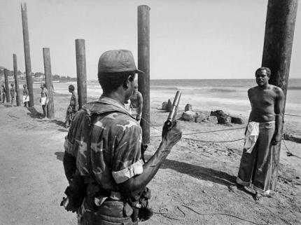 Ministri del Governo di fronte alla loro esecuzione in Liberia