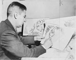 Dr. Seuss disegna The Grinch 1957Dr. Seuss disegna The Grinch 1957