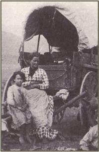 Narrazioni in prima persona (lettere, diari) scritti da donne pioniere nel 1840