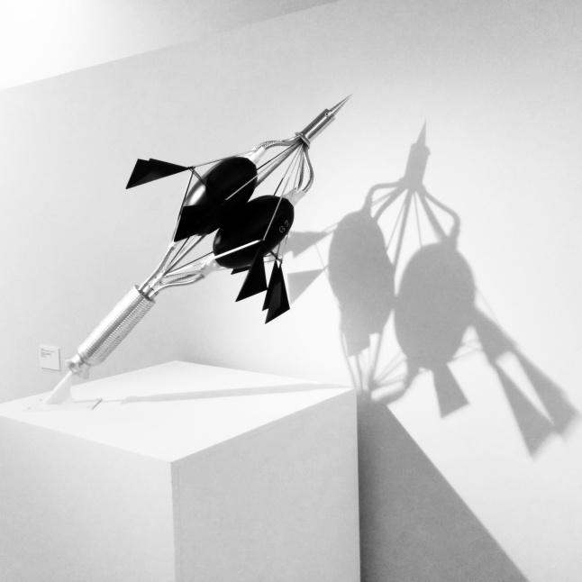 Milano - Museo del 900 - Scultura di Yves Klein