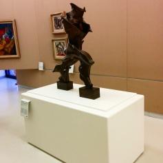 """Milano - Museo del 900 - """"Forme uniche della continuità nello spazio"""" di Umberto Boccioni"""