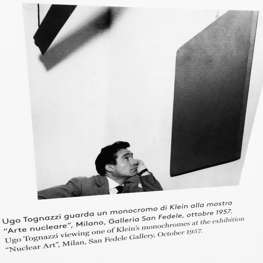 "Milano - Museo del 900 - Mostra ""Klein Fontana. Milano Parigi 1957-1962"""