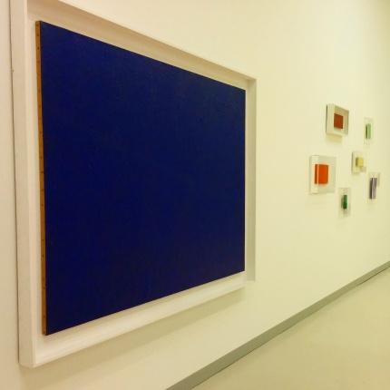 Milano - Museo del 900 - Opere di Yves Klein