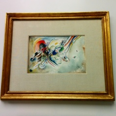 """Milano - Museo del 900 - """"Composizione"""" di Wassily Kandinsky"""