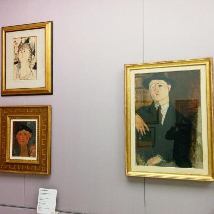 Milano - Museo del 900 - Opere di Modigliani
