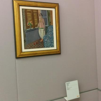 """Milano - Museo del 900 - """"Odalisca"""" di Henri Matisse"""