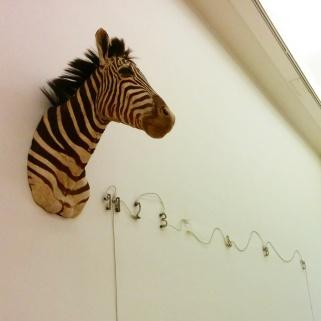 """Milano - Museo del 900 - """"Zebra (Fibonacci)"""" di Mario Merz"""