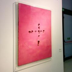 Milano - Museo del 900 - Opera di Lucio Fontana