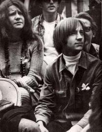 Janis Joplin e Peter Tork a Monterey 1967