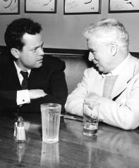 Orson Welles e Charlie Chaplin