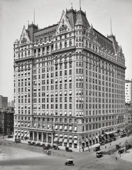 Plaza Hotel, NYC, 1912