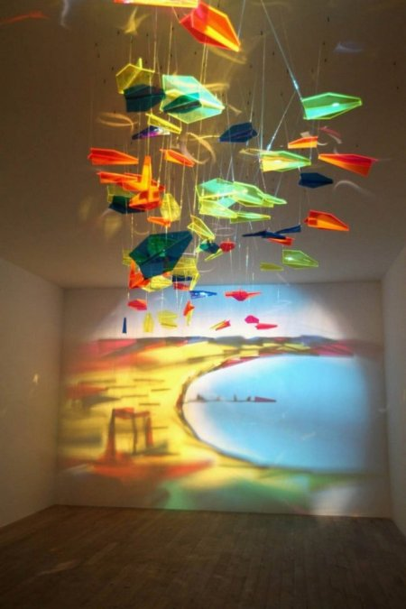 Installazione d'ombradell'artista Rashad Alakbarov