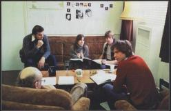 Gary Kurtz, Carrie Fisher, Mark Hamill, Harrison Ford, Irvin Kershner