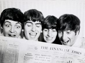 The Beatles, 1963 (By Norman Parkinson)