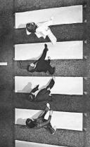 I Beatles che attraversano Abbey Road 1969