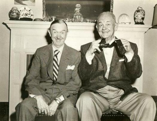 L'ultima foto di Laurel & Hardy 1956