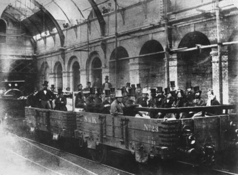 La metropolitana di Londra 1863