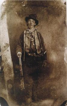 L'unico ritratto autentico conosciuto del famoso fuorilegge Billy the Kid