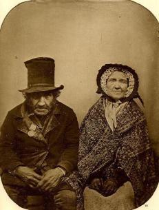 Veterano di Waterloo con la moglie, 1850
