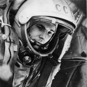 Yuri Gagarin, il primo uomo nello spazio, 1961