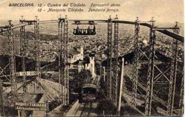 1920 - Funicolare - Tibidabo - Barcelona